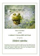 Úklid rybníku - plakát